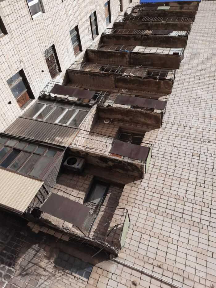 Аварийное состояние балконов 2