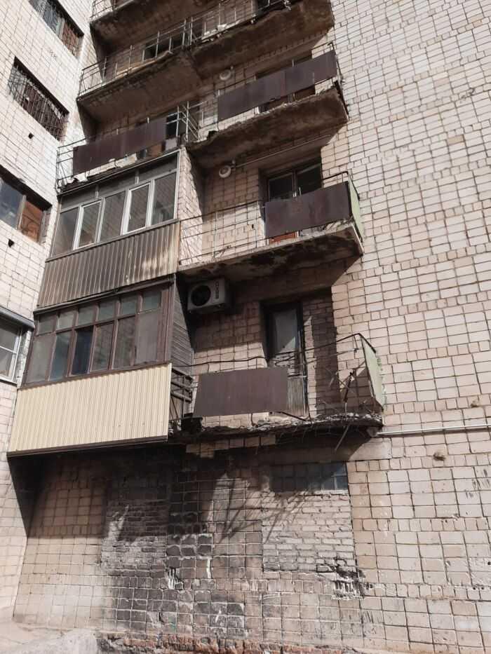 Аварийное состояние балконов 1