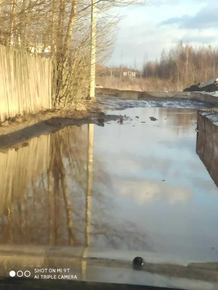 Проезд по ул.Колхозная