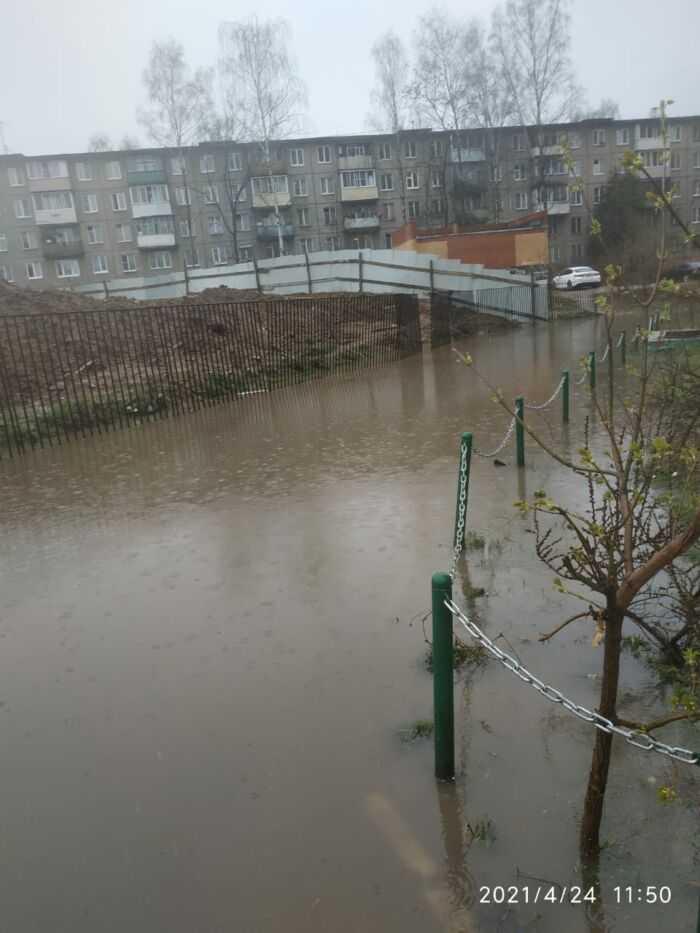 фото потопа домов