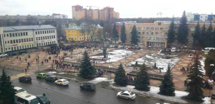 Эвакуация в Щелково
