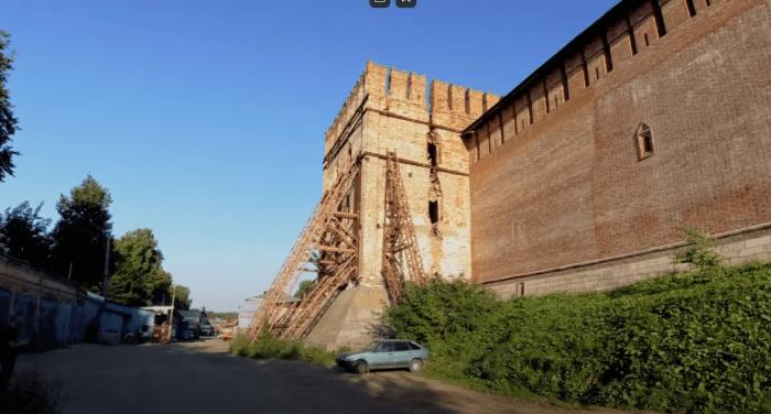 Местная Пизанская башня